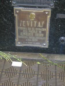 Túmulo de Evita Perón - Cemitério da Recoleta