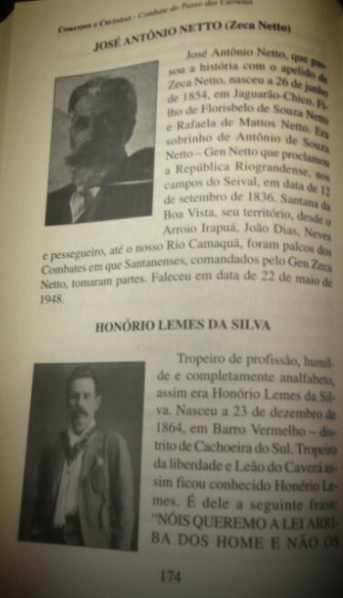 Livro resgate o histórico combate do Passo das Carretas, em Santana da Boa Vista