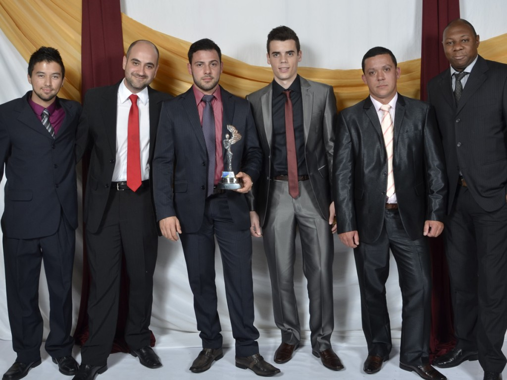Daner, Lauricio, Luiz, Augusto, Matheus e Henrique